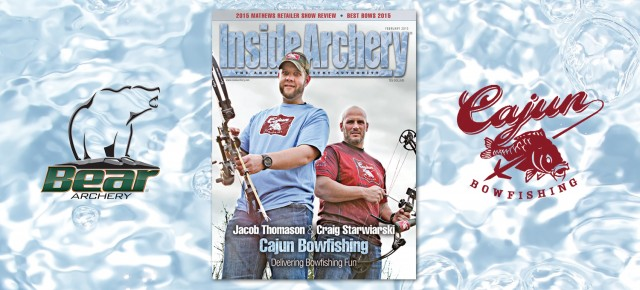 Inside Archery February 2015: Cajun Bowfishing Cover Story