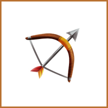 Bow and Arrow emoji
