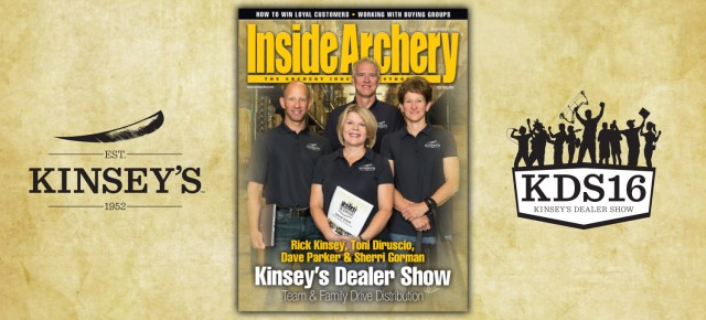 Inside Archery November 2015: Kinsey's Archery - Kinsey's Dealer Show Cover Story