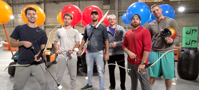 Dude Perfect Does it Again