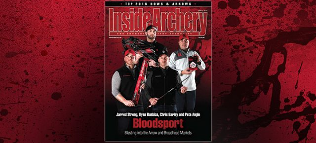 Inside Archery April 2016: Bloodsport Cover Story