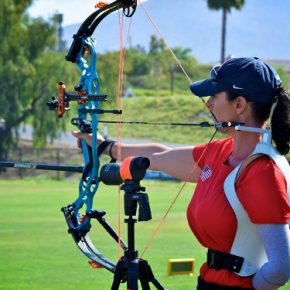 Tucker Named to U.S. Paralympic Archery Team