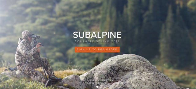 Sitka Gear & Mathews Inc.: Subalpine // New for 2017