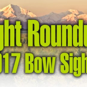 Sight Roundup: 2017 Bow Sights