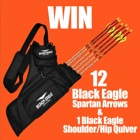 ENTER TO WIN: 12 Black Eagle Arrows & 1 Black Eagle Quiver