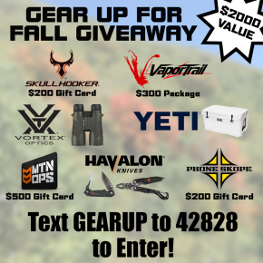 Vapor Trail Archery 'Gear Up' Giveaway