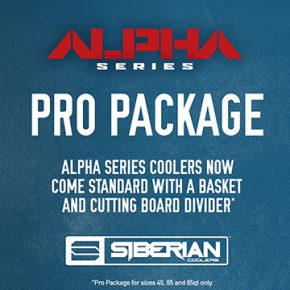 Siberian Coolers Now Offering ALPHA Series Pro Package