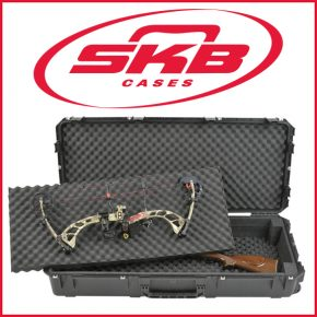 SKB iSeries Double Bow/Rifle Case - Waterproof Superior Protection